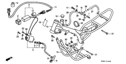 Honda Qr Wiring Diagram