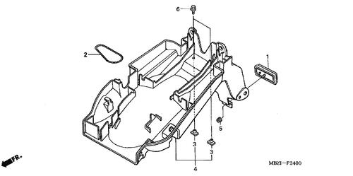 Honda Hornet 600 Wiring Diagram