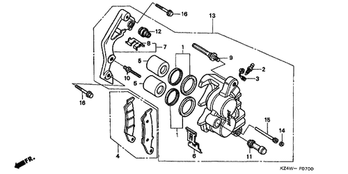 Wire Schematic Honda R on
