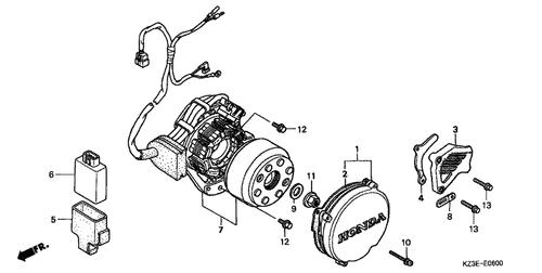 1998 Cr250 Wiring Diagram - Wiring Diagrams List