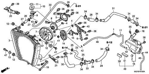 Genuine Honda Cbr1000rr Fireblade Abs 2010 Radiator Cap Plete. Genuine Honda Cbr1000rr Abs 2012 Radiator Hose A Part 24 19503mfl000 940700. Honda. Honda Cbr 1000rr Engine Diagram At Scoala.co