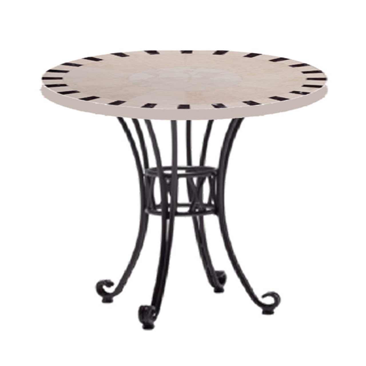 Pohara II 60cm Ceramic Round Table