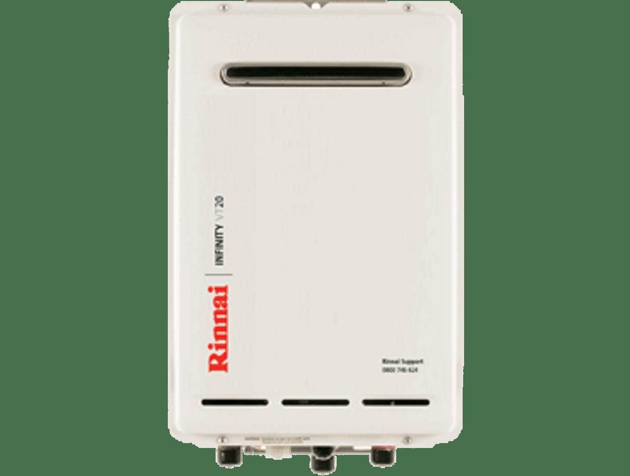 Rinnai Infinity VT20 External Gas Water Heater (LPG)