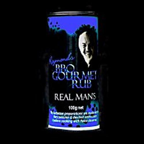 BBQ Gourmet Real Man's Rub - 100g shaker