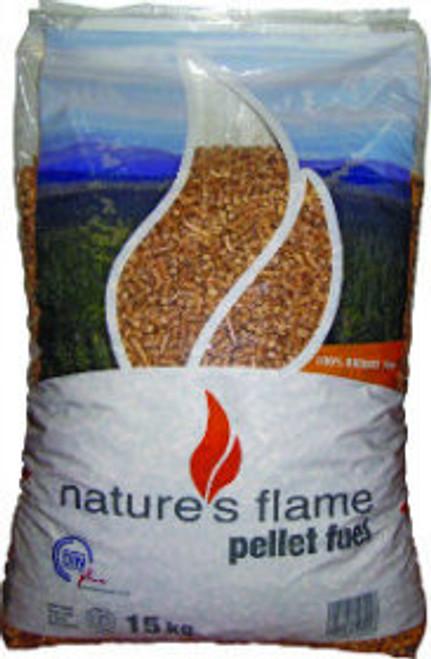 Natures Flame wood pellet fuel