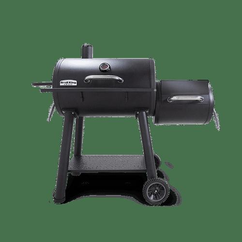 Broil King offset charcoal smoker