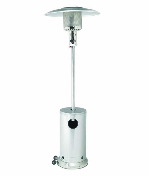 Gasmate Patio Heater - Stainless Steel
