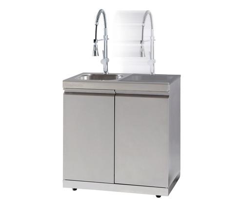 Gasmate Platinum Sink, Bin and Storage