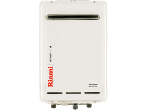 Rinnai Infinity VT16 External Gas Water Heater (LPG)