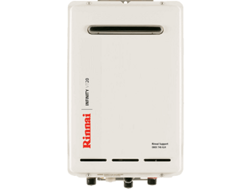 Rinnai Infinity VT20 External Gas Water Heater (LPG)