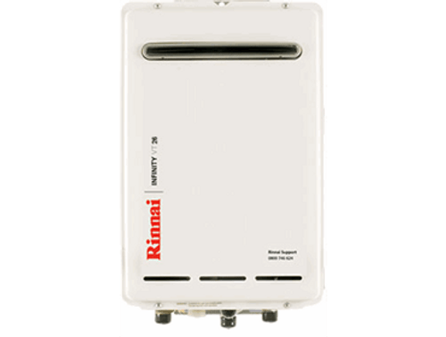 Rinnai Infinity VT26 External Gas Water Heater (LPG)