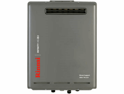 Rinnai Infinity HD250 External Gas Water Heater (LPG)