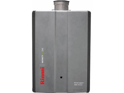 Rinnai Infinity EFi250 Internal Gas Water Heater (LPG)