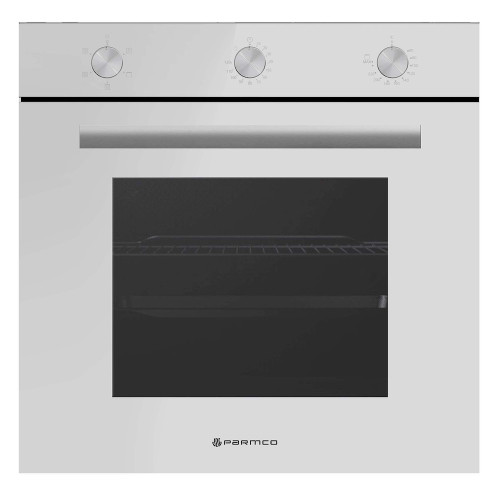 Parmco 600mm Built in White Oven (8 Functions)