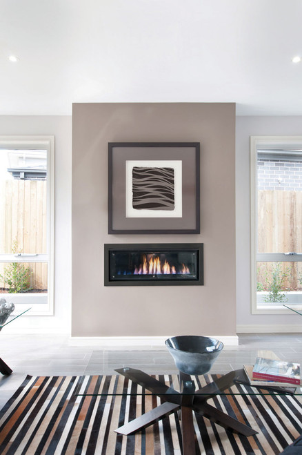 Real Flame Landscape Gas Fire 1000