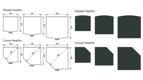 Masport Corner Hearth (1300 x 1300)