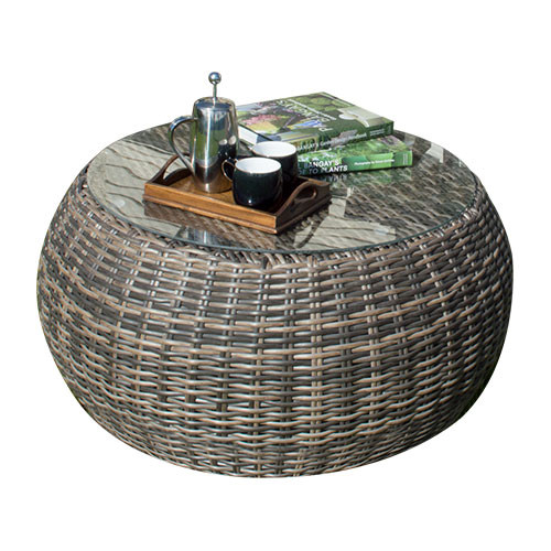 Iowa Wicker Outdoor Table