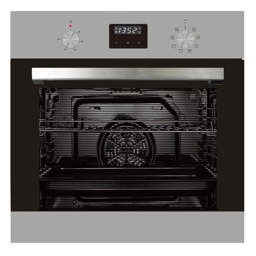 PARMCO   600mm 76Litre Oven, 8 Function, Stainless Steel
