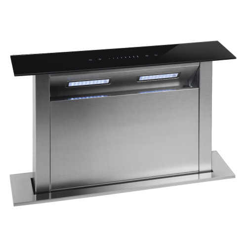 PARMCO 600mm Rear Riser Downdraft, Glass