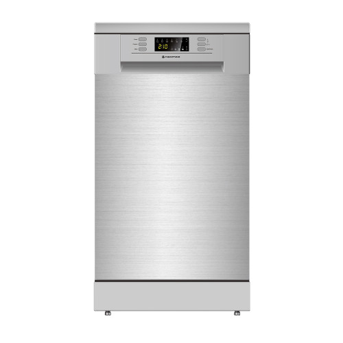 PARMCO 450mm Freestanding Dishwasher, Slim, Economy, Stainless Steel