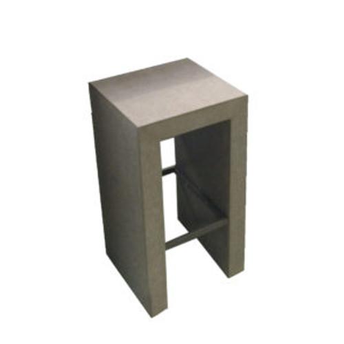 Cemento Bar Stool