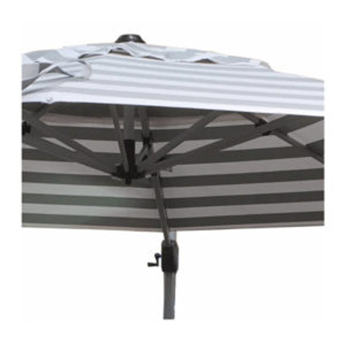 Lethaby 3.3m Round Cantilever Umbrella with Striped Planosol Shade
