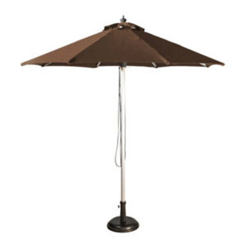 2.5m Round Market Umbrella - Aluminium Frame with  Planosol Shade( Single colour)