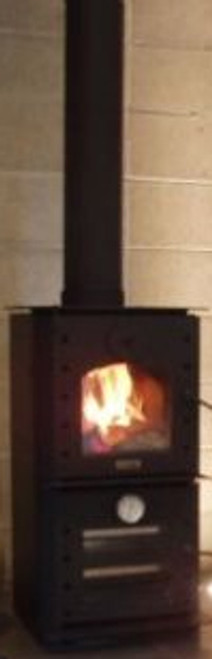 Warmington Studio Oven freestanding wood burner