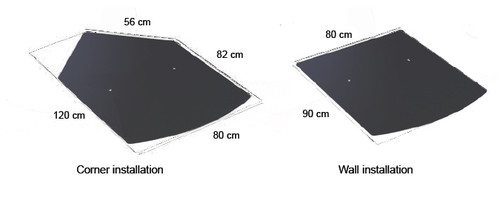 Bosca Steel Ash Hearth (Black)
