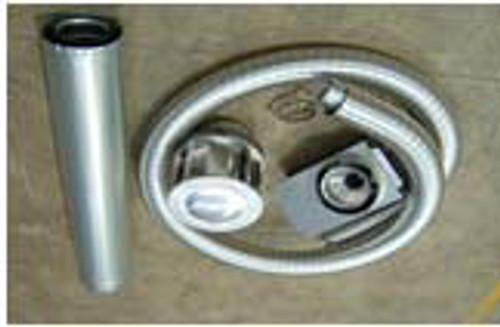Escea Internal Vertical Powered Flue Kit