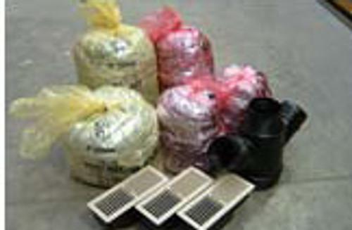 Escea DX Ducting Floor Outlet Kit (3 outlets)