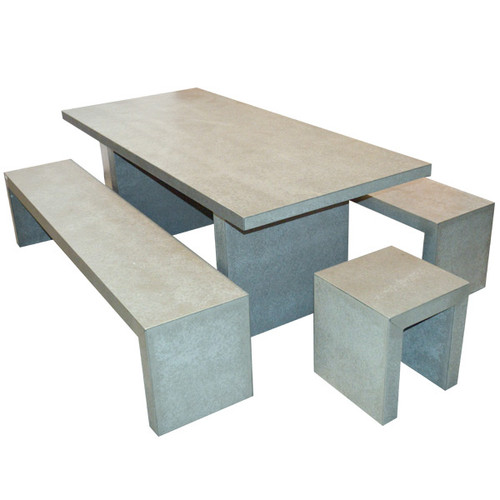 Fibre Cement Bench Setting