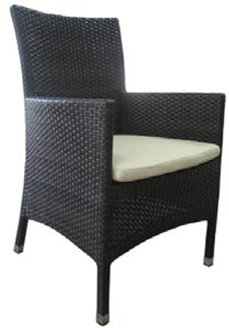 Eclipse Wicker Armchair with Cushion