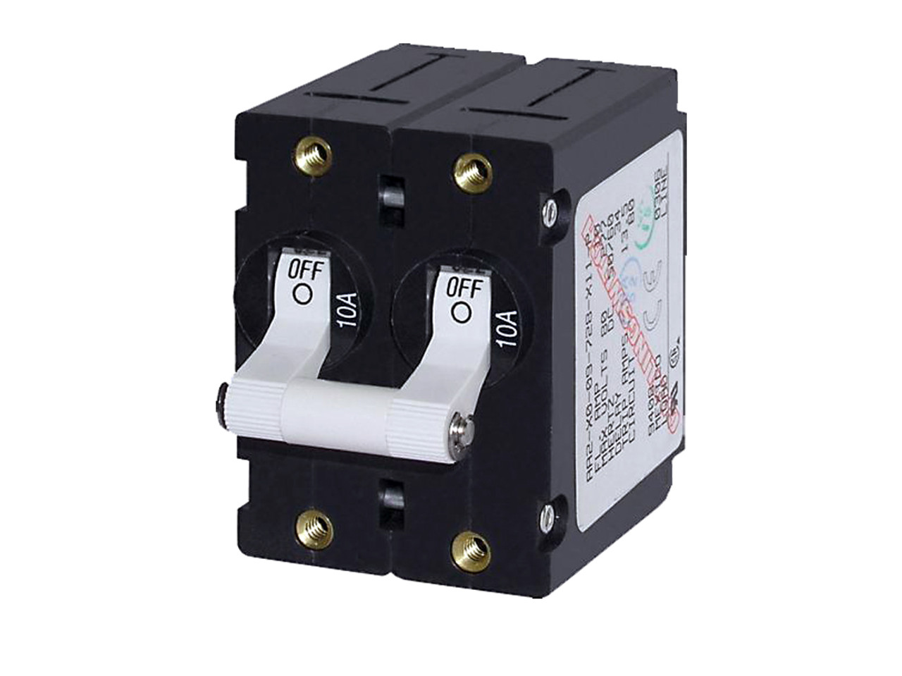 Circuit Breaker/Switch Double Pole 16A - Boat Electricals