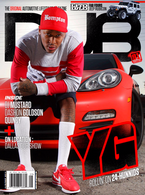 DUB Magazine Issue 91 featuring YG, DJ Mustard, Dashon Goldson, Quincy, Phantom King & 2014 DUB Show Tour : Dallas!