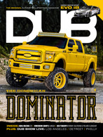 DUB Magazine Issue 97 featuring Joe Peralta's MC Customs-built Ford F-250.