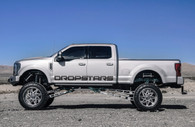 "75"" Dropstars Large Door Decal"