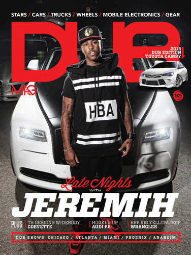 DUB Magazine Issue 92 Cover with Jeremih