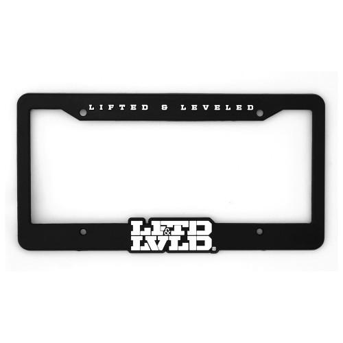 LFTD & LVLD Black License Plate Frame