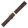 Dark Brown Dunthorp Polished Stitched Crocodile (Glossy)
