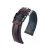 Hirsch Grand Duke - Black with Red Stitching