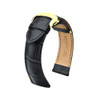 Hirsch Lord - Black with Gold-Tone Deploy Buckle
