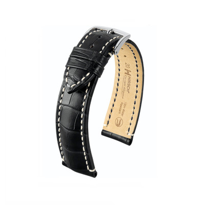 Hirsch Viscount - Black Premium Alligator