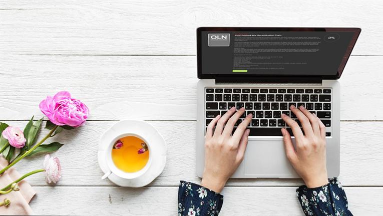 online recertification course