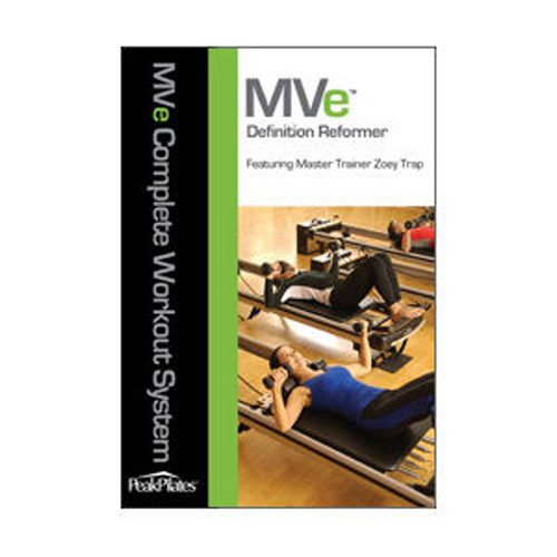 Peak Pilates Mve Fitness Chair: MVe® Definition Reformer Workout DVD
