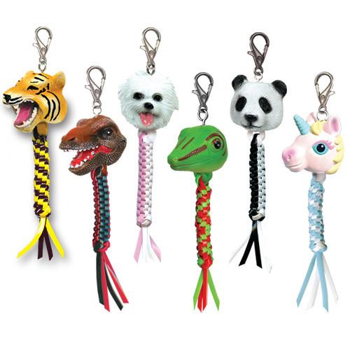 Rex Heads Lanyard Key Fob Animal Kits