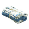 Kyte Bamboo 5-Pack Washcloths - Sky & Ocean
