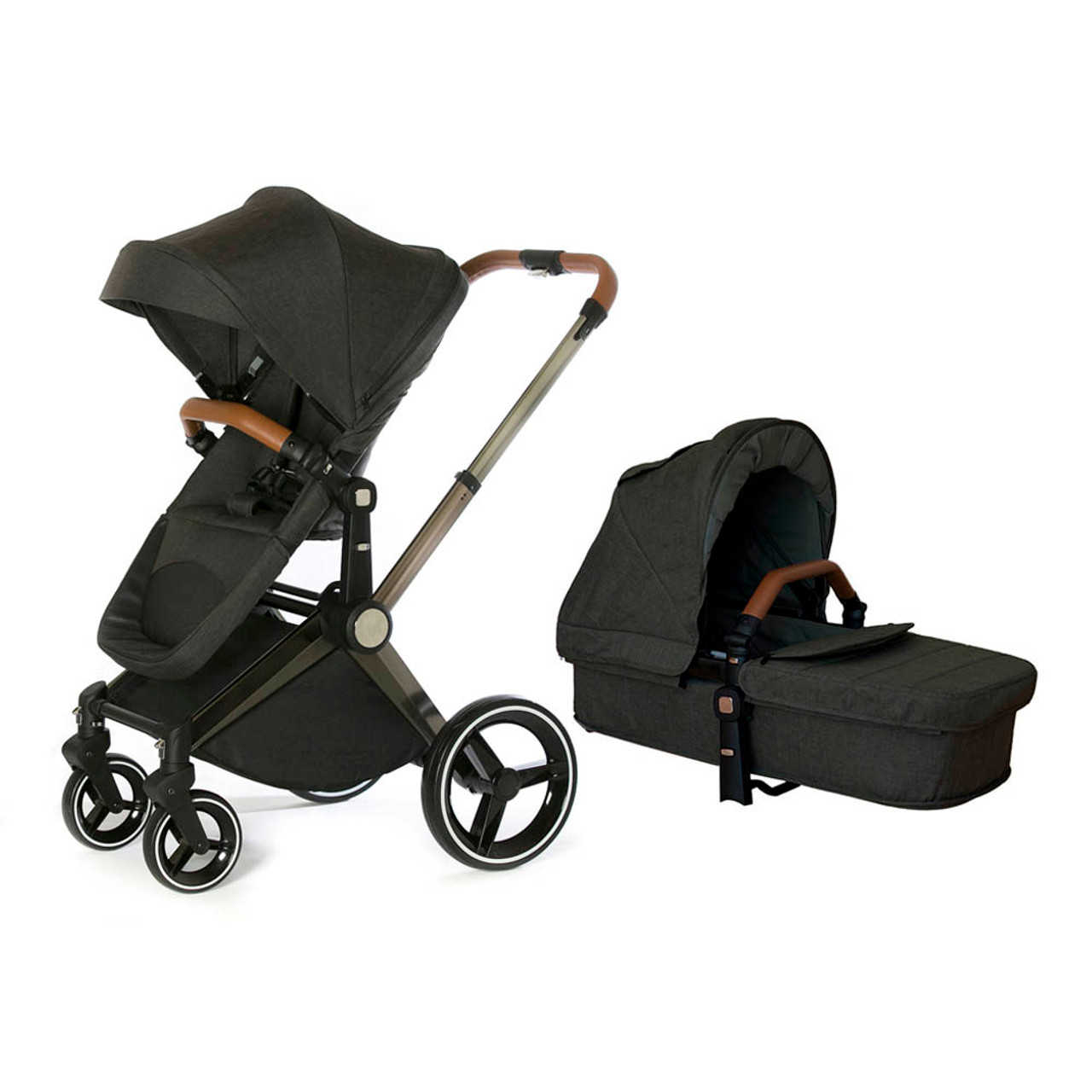 Practical and comfortable baby stroller World of Childhood