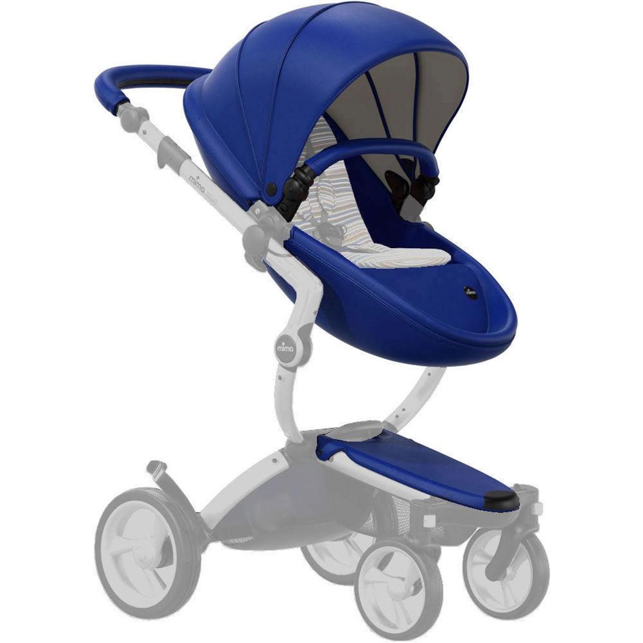 Mima Xari Stroller Seat Kit - Royal Blue - Dear-Born Baby