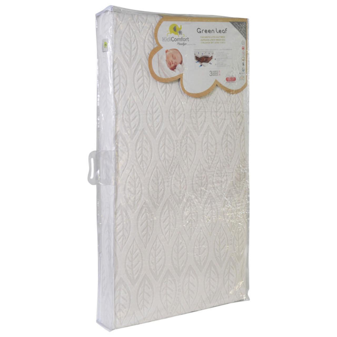 Kidicomfort Green Leaf 2 In 1 Crib Mattress Dear Born Baby